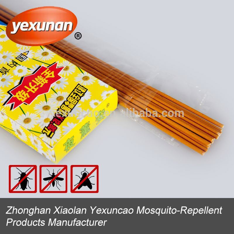 China high quality herbal jasmine frangance mosquito repellent incense stick