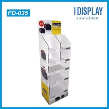 free standing display unit FSDU retail cardboard display