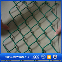 PVC-isolierte Maschendrahtzaun/ISO factory direct sale high quality 6ft pvc insulated chain link fence