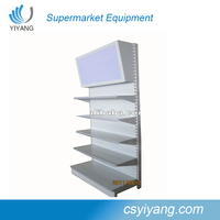 chain store assemble light box rack with low price