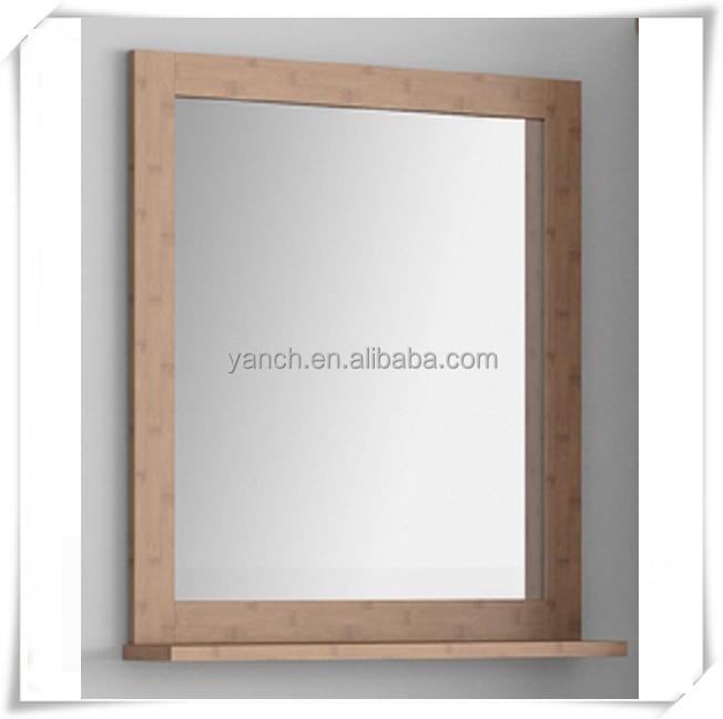 Glue frame to mirror