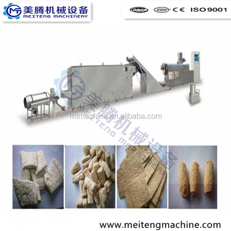 Fully Automatic Turnkey Vegetarian Soya Protein Meat Processing Machine