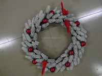 White Berry Christmas Wreath with Special Design