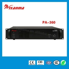 China manufacturer supply new audio amplifier PA-360 360W power amplifier price in Indian
