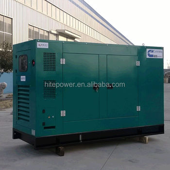 Less Fuel 8kw-1200kw silent type diesel generator sets