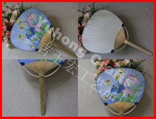 2014 Hot Custom Logo Promotion Branded Paper fan