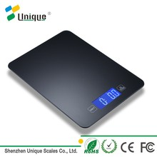 Cheap wholesale electronic lcd glass 5kg small bluetooth food digital kitchen weight scale