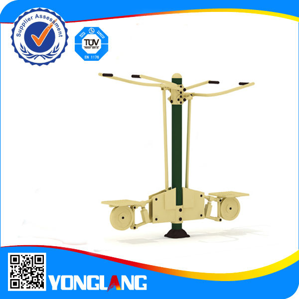 Outdoor pull chair gym equipment
