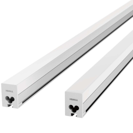 14w 1200mm warm white square led batten