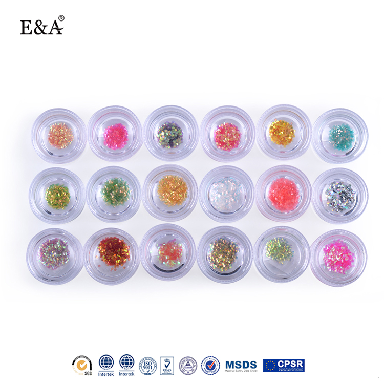 EA fengshangmei nail art of new product for decoration nail art glitter