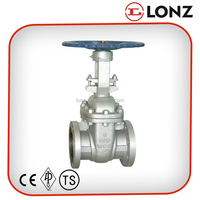 API Cast Steel Flanged Rising Stem 6 Inch Gate Valve