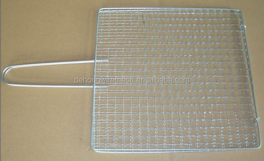 steel barbecue wire mesh, chrome plated barbecue grill wire mesh, circle barbecue wire mesh