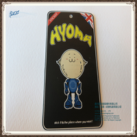 cartoon hang tags clothing, plastic clothes brand tag at best price