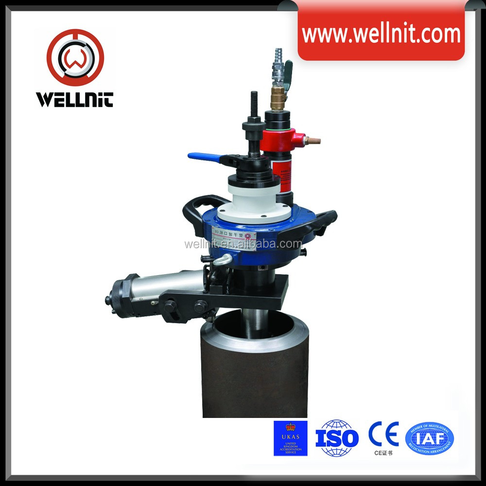 Heavy Duty Protable Pipe V Groove Machine