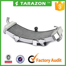 Custom curved motorcycle aluminum radiator for yamaha tmax 530 scooter parts