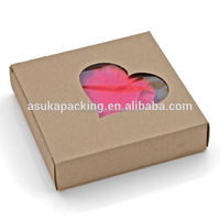 Direct Factory Custom Made High Quality High Quality cake boxes with window