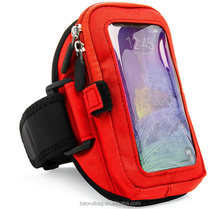 Universal Cellphone Carry Case,Wallet Case with Carry Strap Waterproof Cards Money Pouch Bag for Smartphone