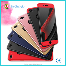 mobile phone accessories dubai 360 Degree Full Coverage Slim Phone Case for iphone 7plus with free sample