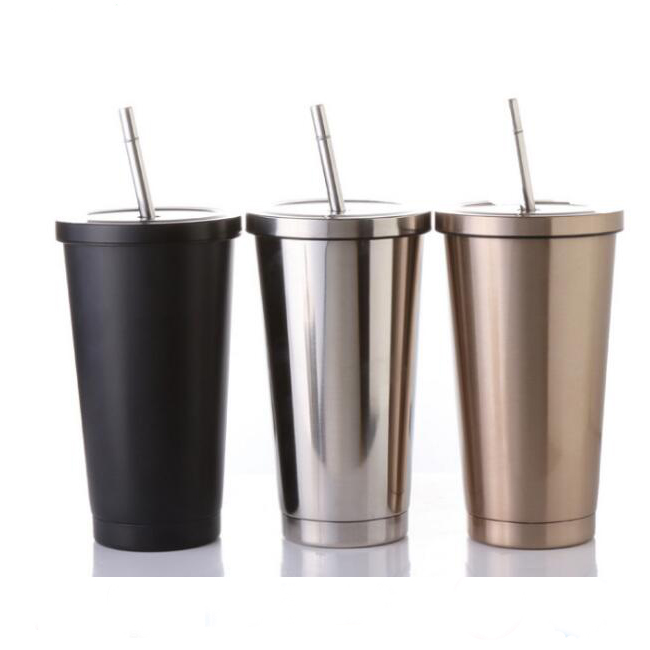 stainless steel double wall mug,stainless steel <strong>cup</strong>,<strong>cup</strong> with straw starbacks