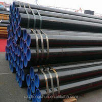hot dip galvanized seamless schedule 40 carbon in steel pipe