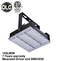 High power explosion proof gas station led canopy light fixtures 120w
