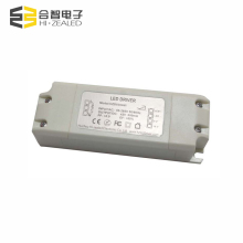 Low Total Harmonic Distortion 42-57v 350mA dimming 0-10v constant current led driver 20W