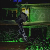 Outdoor green moving laser light, holiday decoration garden laser light