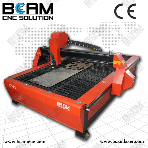 Factory price 1300*2500 plasma cutting machine price with Huayuan power supply and start cutting system