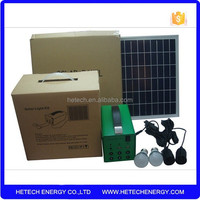 30w/12v home solar system for home lighting from China factory