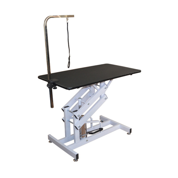 Deluxe Professional Z - Lift Hydraulic Pet Dog Grooming Table with Arm Noose