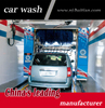 Drive through rollover car wash equipment, high standard auto car washing machine