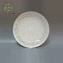 China Cheap Antique White Porcelain Serving Dish Plate