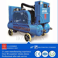 china portable screw air compressor for hot sale