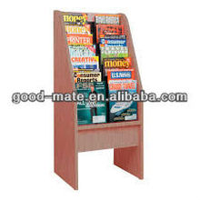 Cardboard Portable Book Stand Display Ladder Shelf Bookcase