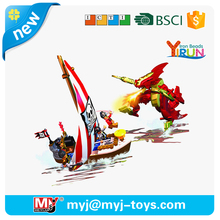 YIRUN plastic blocks pirates series building toys for boys