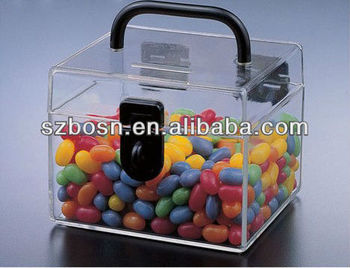 Acrylic Food Storage Case/ Acrylic Candy Case/ Acrylic Storage Case