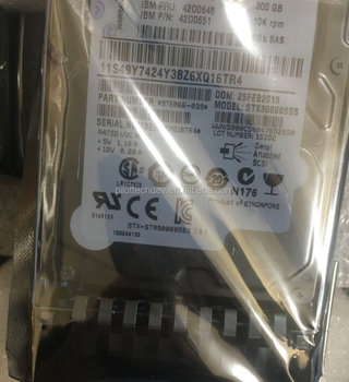 100% New 42d0648 300 GB 10000 RPM 2.5 SAS 6G hdd 42d0647