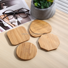 Slim Wireless wooden power bank, slim wooden power bank, wireless wooden charger