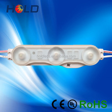 High Quality IP68 Injection Waterproof 160degree 1.5W 150LM 3LEDS SMD 2835 LED Module With Lens