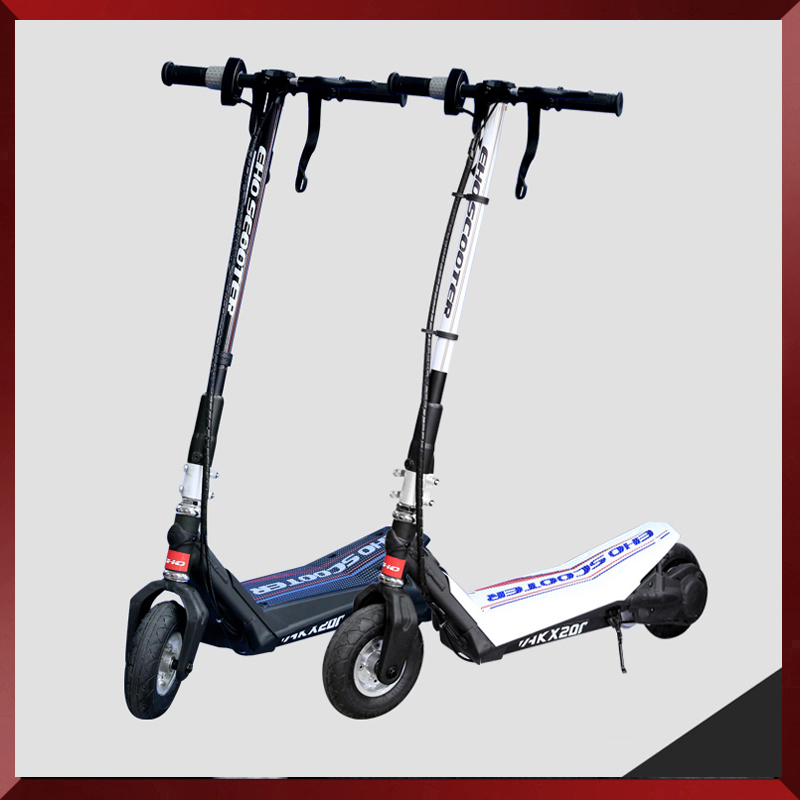 250w folding carton fiber electric scooter for adult for Fold up scooters motorized