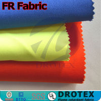 CVC75/25 Antistatic Anti-acid flame retardant fabric for 280gsm FR Safety workwear