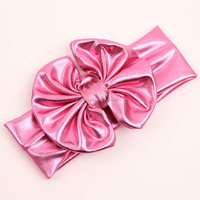 persnickety wholesale children's boutique Pure cotton giggle moon remake headdress Bow Christmas headdress