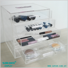 Specialized In brand Name OEM Service Acrylic Makeup Organizer Drawers WITH CHEAP PRICE