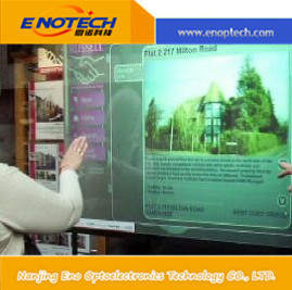 Promotional high quality of Interactive Multitouch foil for transparent glass touch screen