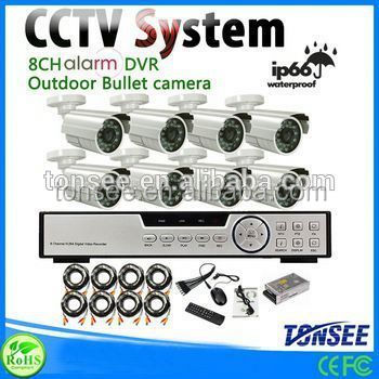 Wifi outdoor IP Camera P2P 4ch Wifi Nvr Kits Cctv Kits CCTV Security Surveillance system,Solar Powered Wireless Security Systems