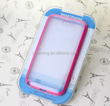 2015 new high quality plastic packaging box for cell phone accessories china supplier