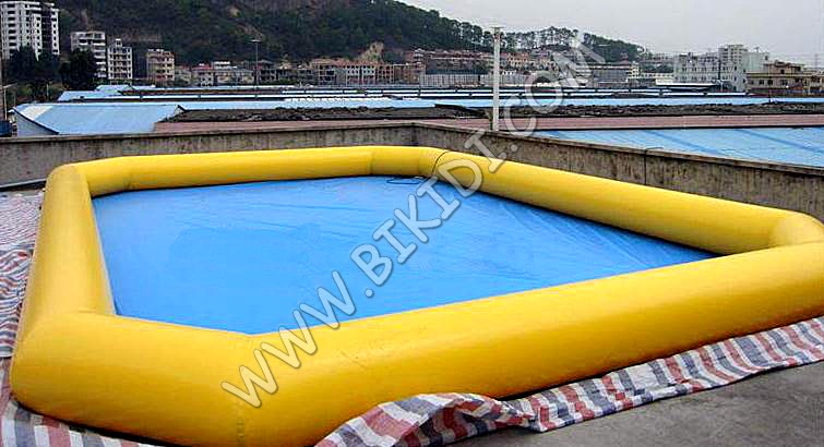 PVC floating inflatable boat swimming pool, inflatable pool for water park D2033