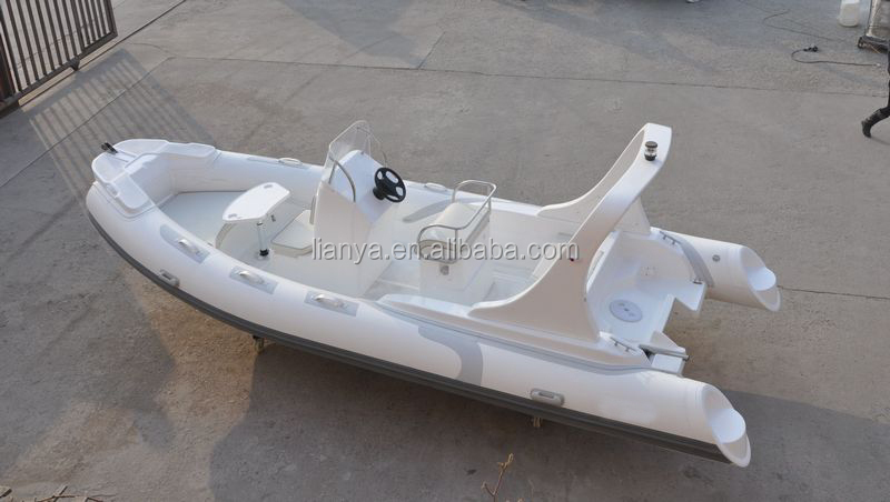Liya 5.8m rigid hull T top central console FRP boat fishing