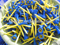 Hot sale beautiful rubber top plastic golf tees\ hot sell golf tees\ golf accessories