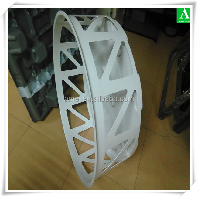 Customized vacuum thermoforming mobile toilet plastic parts